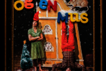 Teater for Børn. 3- 6 år. Batida m. To i et hus og en mus holder Jul