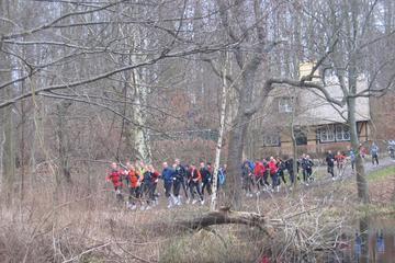 Socialt maratonstafetløb i Rudersdals natur