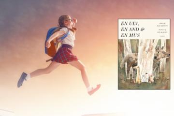 AFLYST: Hop ind i bogen: Sammen med en ulv, en and og en mus