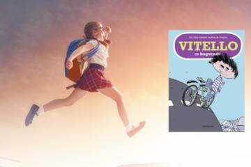 Hop ind i bogen: Sammen med Vitello er bagvendt