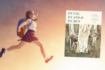 Hop ind i bogen: Sammen med en ulv, en and og en mus