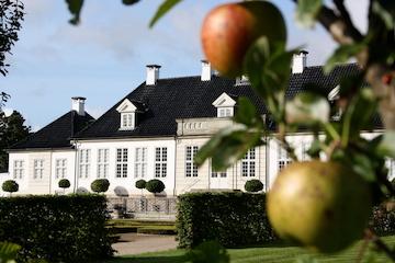 Æbledag 2021 i barokhaven på Gl. Holtegaard