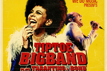 NY dato: TipToe Big Band Plays Tarantino & Bond feat. Dawn Joseph (UK) & Bobo Moreno