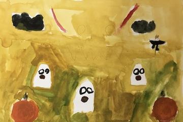 Kunstworkshop for 7-10 årige: Er du klar til Halloween?