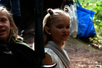 Juniorrollespil i Rude Skov (sommeraktivitet)