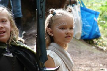 Juniorrollespil i Rude Skov