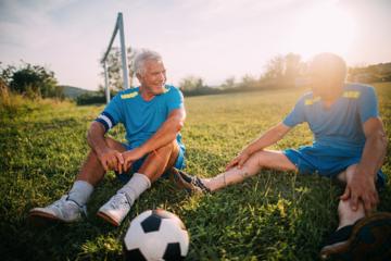 Fodbold for dig mellem 50+ og 70+
