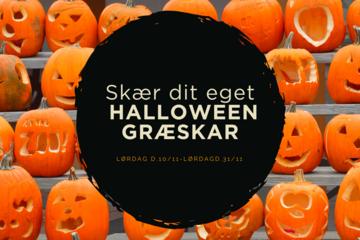 Skær dit eget Halloween Græskar