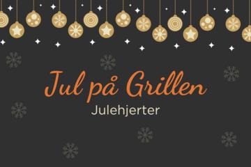 Jul på Grillen: Julehjerter
