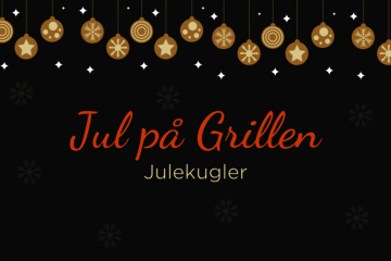 Jul på Grillen: Julekugler