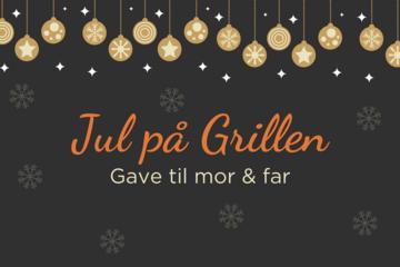 Jul på Grillen: Gaver til mor og far (inkl. besøg af Julemanden)