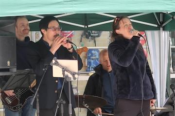 Quintet Sans Souci spiller på Torvet