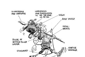 Asterix og den romerske legionær