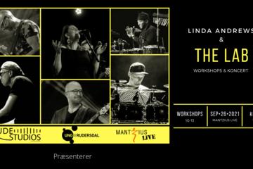 Rude Studios Genstart feat. Linda Andrews & The LAB - workshop og koncert