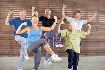 Bevæg dig glad for seniorer